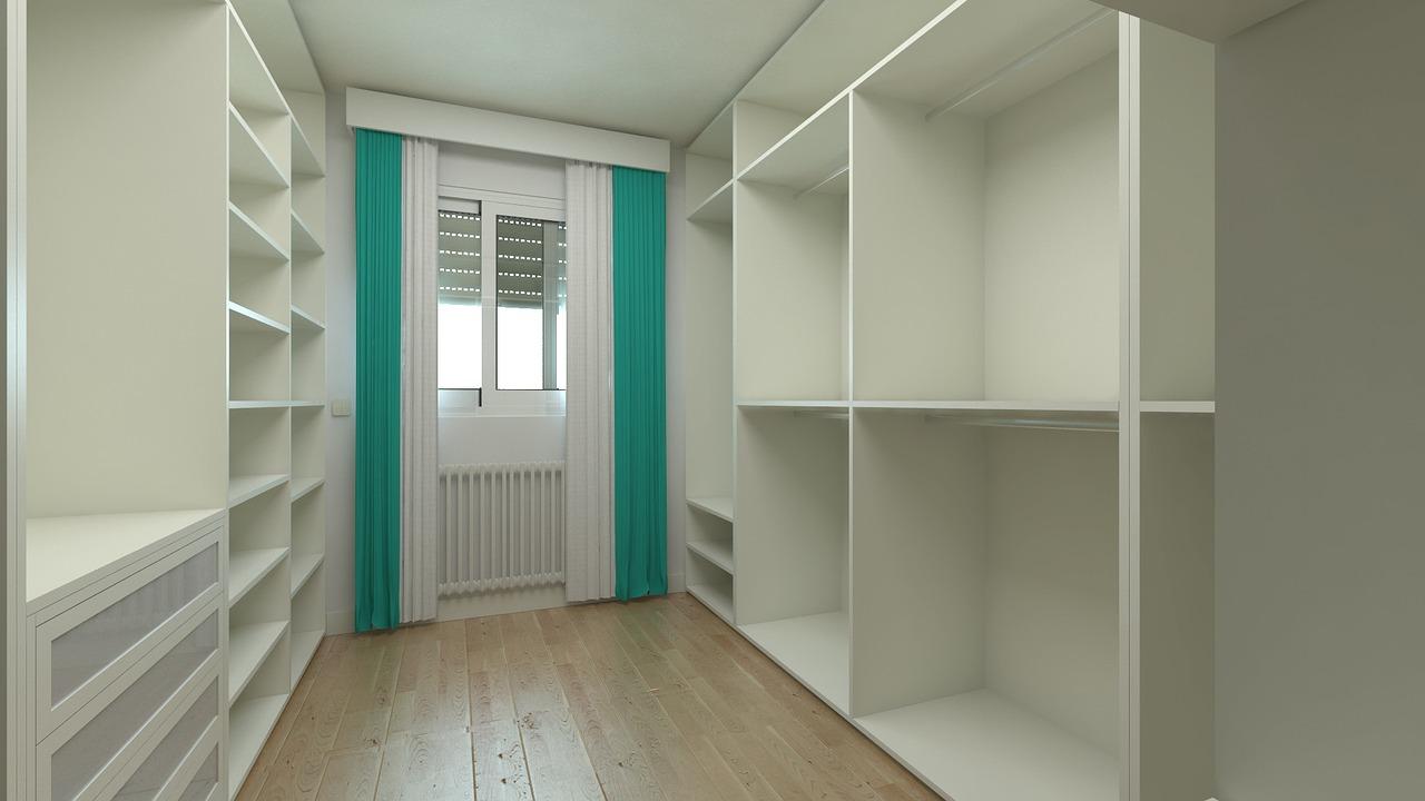 Aprovechamiento de espacio en tu hogar guardarropa